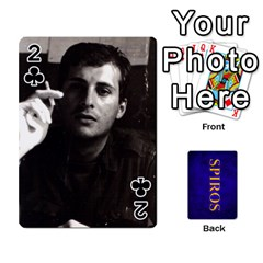 Spiros Cards By Marka20300   Playing Cards 54 Designs   3lnj5g2c0iod   Www Artscow Com Front - Club2
