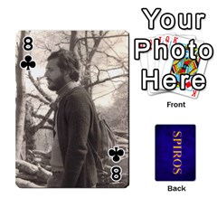 Spiros Cards By Marka20300   Playing Cards 54 Designs   3lnj5g2c0iod   Www Artscow Com Front - Club8