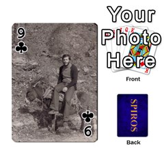 Spiros Cards By Marka20300   Playing Cards 54 Designs   3lnj5g2c0iod   Www Artscow Com Front - Club9