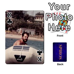 King Spiros Cards By Marka20300   Playing Cards 54 Designs   3lnj5g2c0iod   Www Artscow Com Front - ClubK