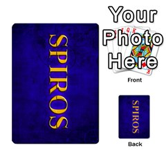 Spiros Cards By Marka20300   Playing Cards 54 Designs   3lnj5g2c0iod   Www Artscow Com Back