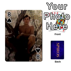 Spiros Cards By Marka20300   Playing Cards 54 Designs   3lnj5g2c0iod   Www Artscow Com Front - Spade8