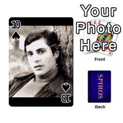 Spiros Cards By Marka20300   Playing Cards 54 Designs   3lnj5g2c0iod   Www Artscow Com Front - Spade10