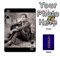 Jack Spiros Cards By Marka20300   Playing Cards 54 Designs   3lnj5g2c0iod   Www Artscow Com Front - SpadeJ