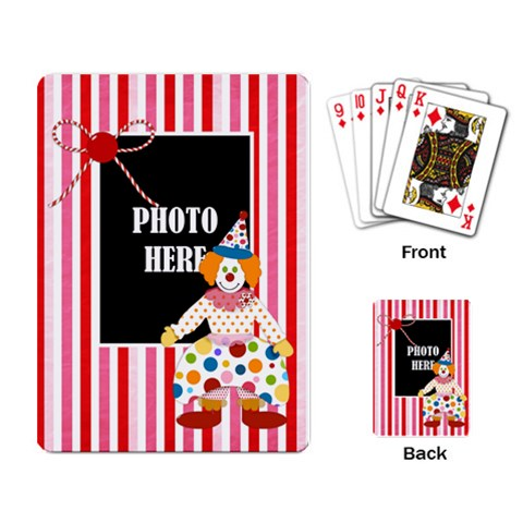 Carnival Playing Cards 1 By Lisa Minor   Playing Cards Single Design   Y7b4qpowtwpp   Www Artscow Com Back
