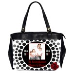NOH8 Peace Purse - Oversize Office Handbag (2 Sides)