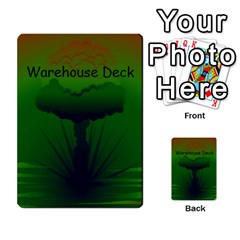 Jericho Cards By Benson J  Whitney   Multi Purpose Cards (rectangle)   A9zygppmmyd7   Www Artscow Com Back 30