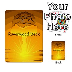 Jericho Cards By Benson J  Whitney   Multi Purpose Cards (rectangle)   A9zygppmmyd7   Www Artscow Com Back 43