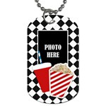 Carnival 1 Sided Dog Tag - Dog Tag (One Side)