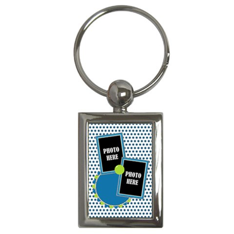 Carnvial Keychain  Rectangular 1 By Lisa Minor   Key Chain (rectangle)   Mk45ajrojmyw   Www Artscow Com Front