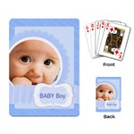 baby boy - Playing Cards Single Design