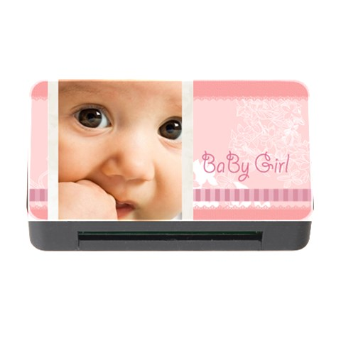 Baby Girl By Joely   Memory Card Reader With Cf   94ljewr783qb   Www Artscow Com Front