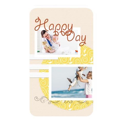 Happy Day By Joely   Memory Card Reader (rectangular)   B2e0ldugbrel   Www Artscow Com Front
