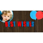 Boy birthday 3D card - Happy Birthday 3D Greeting Card (8x4)