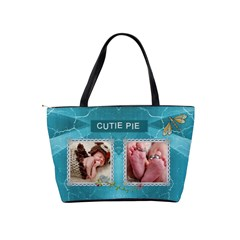 Cutie Pie Classic Shoulder Handbag By Lil    Classic Shoulder Handbag   V0kqpvvg9f4s   Www Artscow Com Back