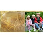 Believe in Him 3D card - BELIEVE 3D Greeting Card (8x4)
