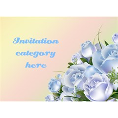 Any Purpose Invitation Card 3d (7x5) By Deborah   You Are Invited 3d Greeting Card (7x5)   Abocut6cdy29   Www Artscow Com Front