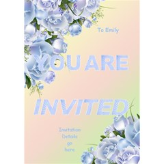 Any Purpose Invitation Card 3d (7x5) By Deborah   You Are Invited 3d Greeting Card (7x5)   Abocut6cdy29   Www Artscow Com Inside