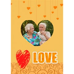 Love By Joely   Heart 3d Greeting Card (7x5)   Beghcgnfafdp   Www Artscow Com Inside