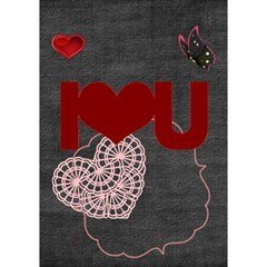 I Love You By Joely   I Love You 3d Greeting Card (7x5)   2xj8uqblnc7z   Www Artscow Com Inside