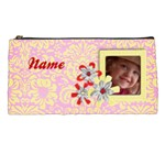 Pink & Yellow Pencil Case