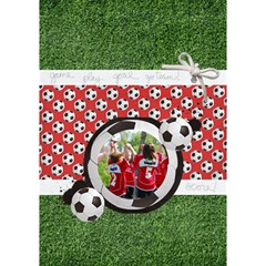 Soccer Coach Sports 3d Circle Bottom Card By Mikki   Circle Bottom 3d Greeting Card (7x5)   Tl6a503fdau2   Www Artscow Com Inside