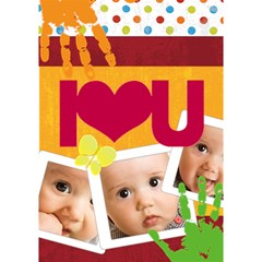 I Love You By Joely   I Love You 3d Greeting Card (7x5)   F9d49opozsiz   Www Artscow Com Inside