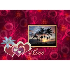 You re Awesome I Love You 3d Card By Ellan   I Love You 3d Greeting Card (7x5)   O2p2yduduyvy   Www Artscow Com Back