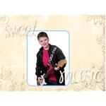 Sweet Music Nathan - LOVE 3D Greeting Card (7x5)