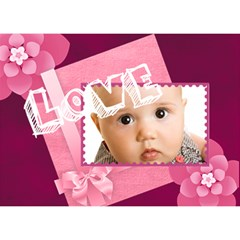 I Love You By Joely   I Love You 3d Greeting Card (7x5)   Yyakni2rotat   Www Artscow Com Front