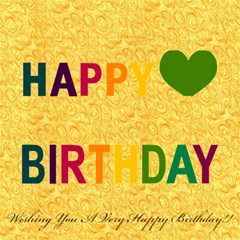 Dads B Day Card By Mussa   Happy Birthday 3d Greeting Card (8x4)   G8z3izg45biw   Www Artscow Com Inside