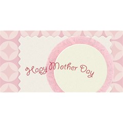 Mothers Day By Joely   Twin Hearts 3d Greeting Card (8x4)   Cf3oqmnc4jzc   Www Artscow Com Front
