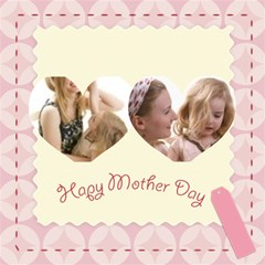 Mothers Day By Joely   Twin Hearts 3d Greeting Card (8x4)   Cf3oqmnc4jzc   Www Artscow Com Inside