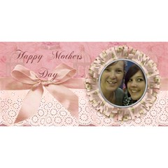 I Love You Mom Pink Bird Cage By Claire Mcallen   Mom 3d Greeting Card (8x4)   F9hcgodqertx   Www Artscow Com Front