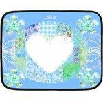 Love is Mini Blanket - Fleece Blanket (Mini)