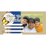 fathers day - #1 DAD 3D Greeting Card (8x4)