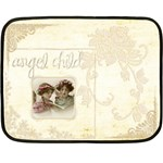 Angel Child Mini fleece Blanket - Fleece Blanket (Mini)