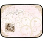 Bambino Girl Baby Mini Fleece Blanket - Fleece Blanket (Mini)