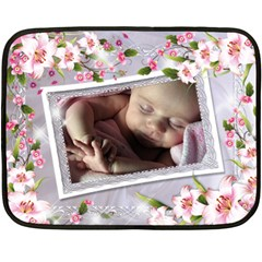 Our Princess Mini Fleece (2 Sided) By Deborah   Double Sided Fleece Blanket (mini)   3nafnzyer8z4   Www Artscow Com 35 x27 Blanket Front
