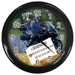 popbike - Wall Clock (Black)