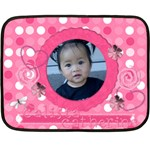 calista catherine 1st b-day blanket - Double Sided Fleece Blanket (Mini)