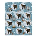 Snowball 60 x 72  Shower Curtain - Shower Curtain 60  x 72  (Medium)