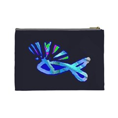 Punkfish By Riksu   Cosmetic Bag (large)   9d134tpad65h   Www Artscow Com Back