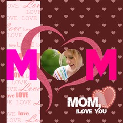 Mom By Joely   Mom 3d Greeting Card (8x4)   Uh4pumubj7jo   Www Artscow Com Inside