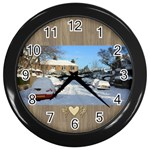 Our home Wall Clock - Wall Clock (Black)