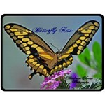 Swallowtale Butterfly Kiss - Fleece Blanket (Large)
