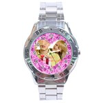 love of rose - Stainless Steel Analogue Watch
