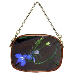 Flowers On Rust By Riksu   Chain Purse (two Sides)   5vrh3ffnmvrd   Www Artscow Com Front