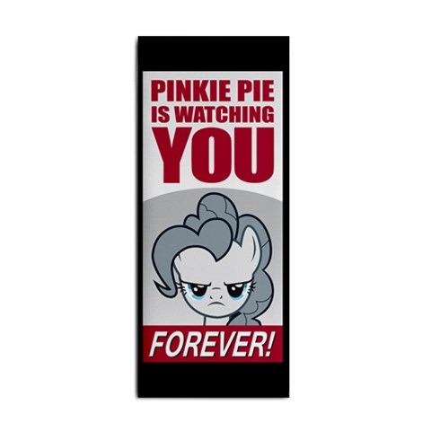 Pinkie Watching You By Akoura   Hand Towel   F5fttmp5yvgw   Www Artscow Com Front