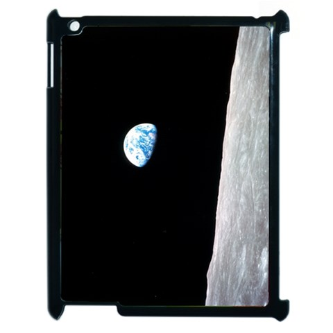 Earth Rise Ipad Case By Dylan Noonan   Apple Ipad 2 Case (black)   Ezy8ewi0uzse   Www Artscow Com Front